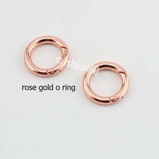 (Pre-order) Rose Gold O ring for Jujube
