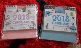 Cute Cartoon 2018 Calendar