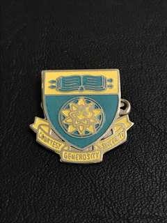 Crescent Girls' School Collar Pin Badge