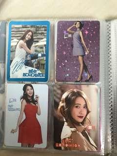 少女時代yes card