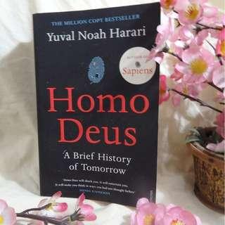 HOMO DEUS (Buku Pengetahuan Non-Fiksi Inggris/English Non-fiction Knowledgeful Book) - Yuval Noah Harari (NEW YORK TIMES BESTSELLER)