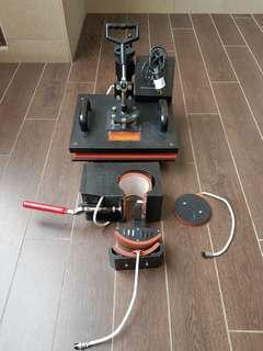 Combo Heat Press 4 in 1