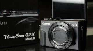 kredit Proses 3 Menit Canon G7X Mark II