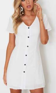 LOOKING FOR WHITE LINEN DRESS