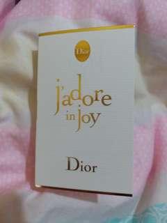 Dior Jadore in Joy Eau De Toilette Spray 1ml