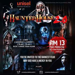 unisel haunted house 2.0