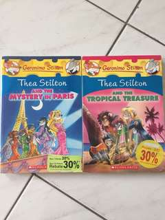 Thea Stilton~ 2 for RM30