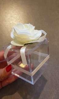 BN Lovely Rosy transparent box