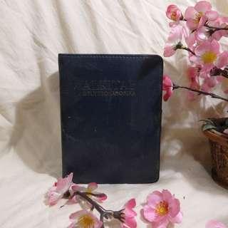 ALKITAB DEUTEROKANONIKA Dengan Sampul Kulit Sintetis Hitam TEBAL (THICK Synthehic Leather)