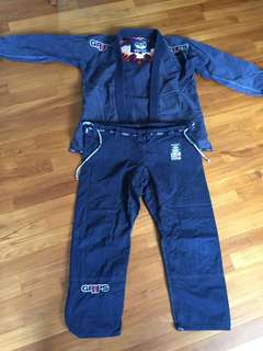 Grips secret weapon 2.0 navy bjj gi (size A3)