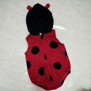 Rompers Ladybugs