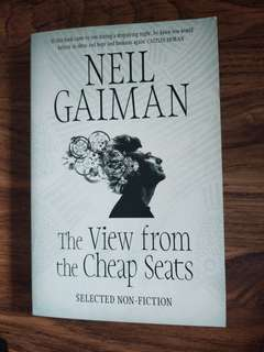 Neil Gaiman - The  View from the Cheap Seats