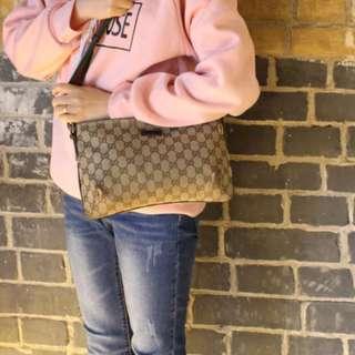 [預訂]Vintage GUCCI  GG Shoulder Bag[GU-04]