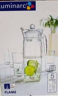 Luminarc Jug and Glass set