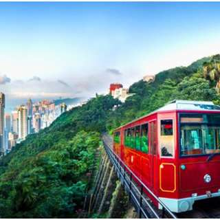 Peak Tram (RoundTrip) + Sky terrace 428 Admission