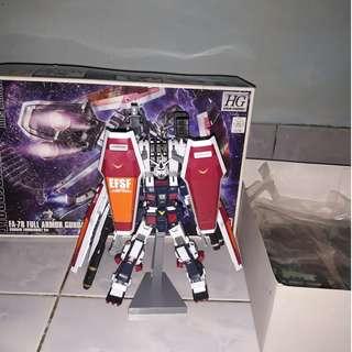 Gundam full armor hg bekas