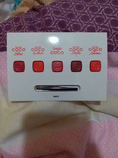 Chanel Rouge Coco 0.22g X 5
