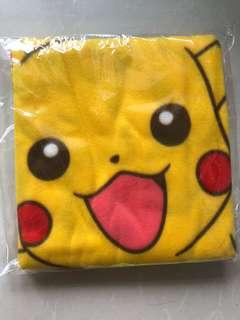 比卡超毛墊 pokemon blanket