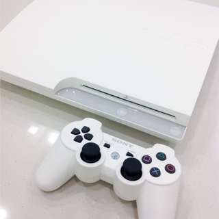 $200 SONY PlayStation 3 HDD 320GB Console - Classic White (Japan) Limited