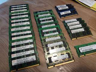 Notebook RAM 1GB DDR 2 667 PC2 5300S