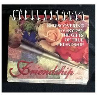 REDISCOVERING EVERYDAY THE GIFTS OF TRUE FRIENDSHIP