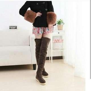 Boots Coklat Promo
