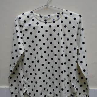 White Dot Shirt
