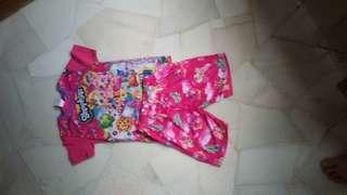 Shopkins pyjama for 5yo