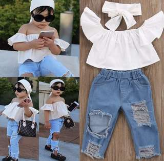 RIPPED JEANS 2-3Y