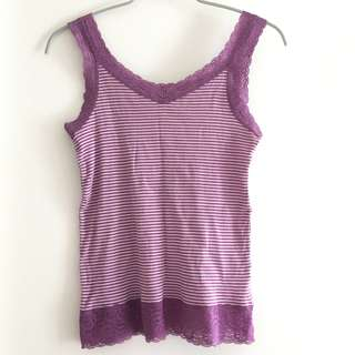 Summer Purple Top Size M