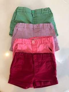 Cotton on girls shorts size 5