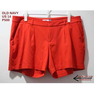 Old Navy Orange Shorts (Repriced!)