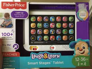 Laugh and learn Smart Stage Tablet - Fisher Price