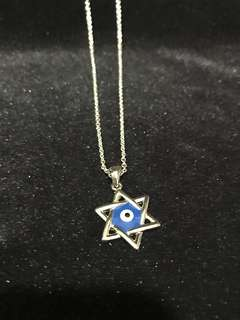 Evil eyes necklace ✡️