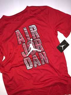 Original JORDAN Red Air Tee
