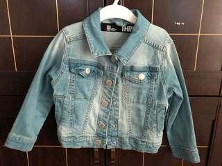 Cotton On Girls Denim Jacket 3 years old