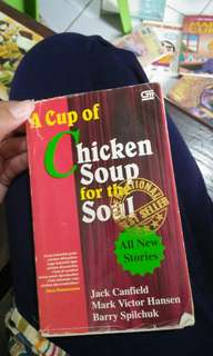 A cup of chicken soup for the soul