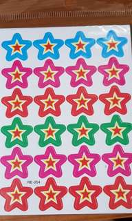 Star Stickers (240 stickers in total)
