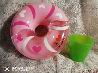 I love donut pink container (normal price Rm32)