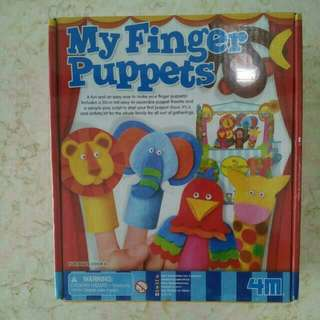 (New) My Finger Puppets (Sealed)