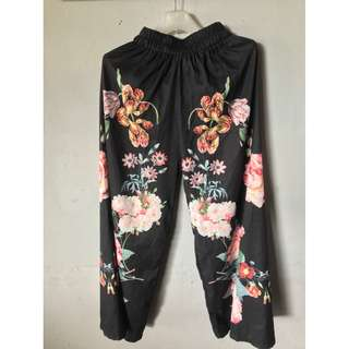 Mine flower pants
