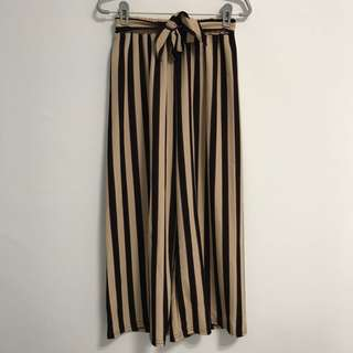 (FREE NM) Stripes Culottes