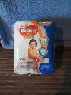 Huggies Dry Pants ( size L - 12pcs)
