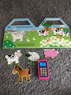 Leapfrog Phone and Pretend & Play Book