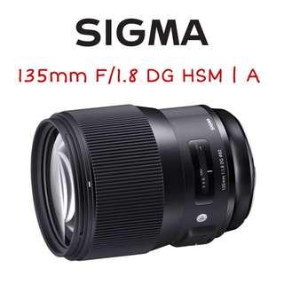 Sigma 135mm F/1.8 DG HSM | A