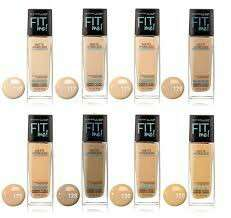 Fit me! Matte + poreless foundation maybelline