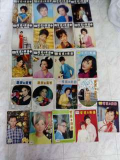 电视与广播 1950-1970s magazine covers only