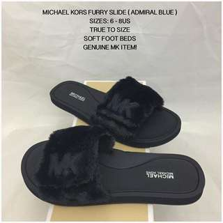 SALE!!! Michael Kors MK Furry Slide