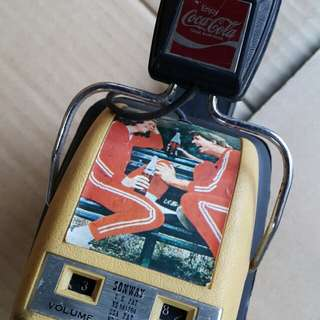 可樂收音耳筒