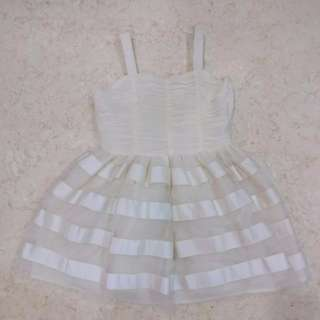 H&M White Dress (8-9Y)